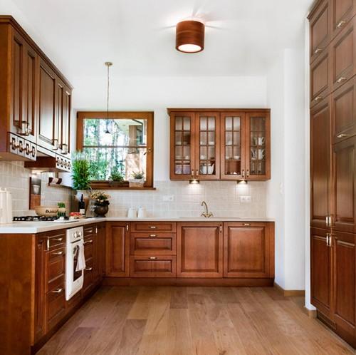 projekt wnętrz - kuchnia w domu jednorodzinnym, warszawa