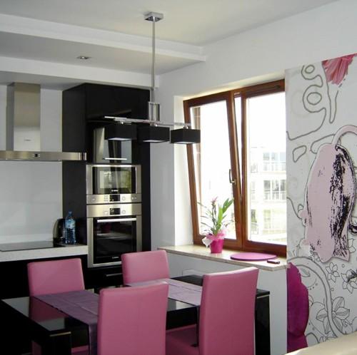 Projekt mieszkania dla młodych w Warszawie