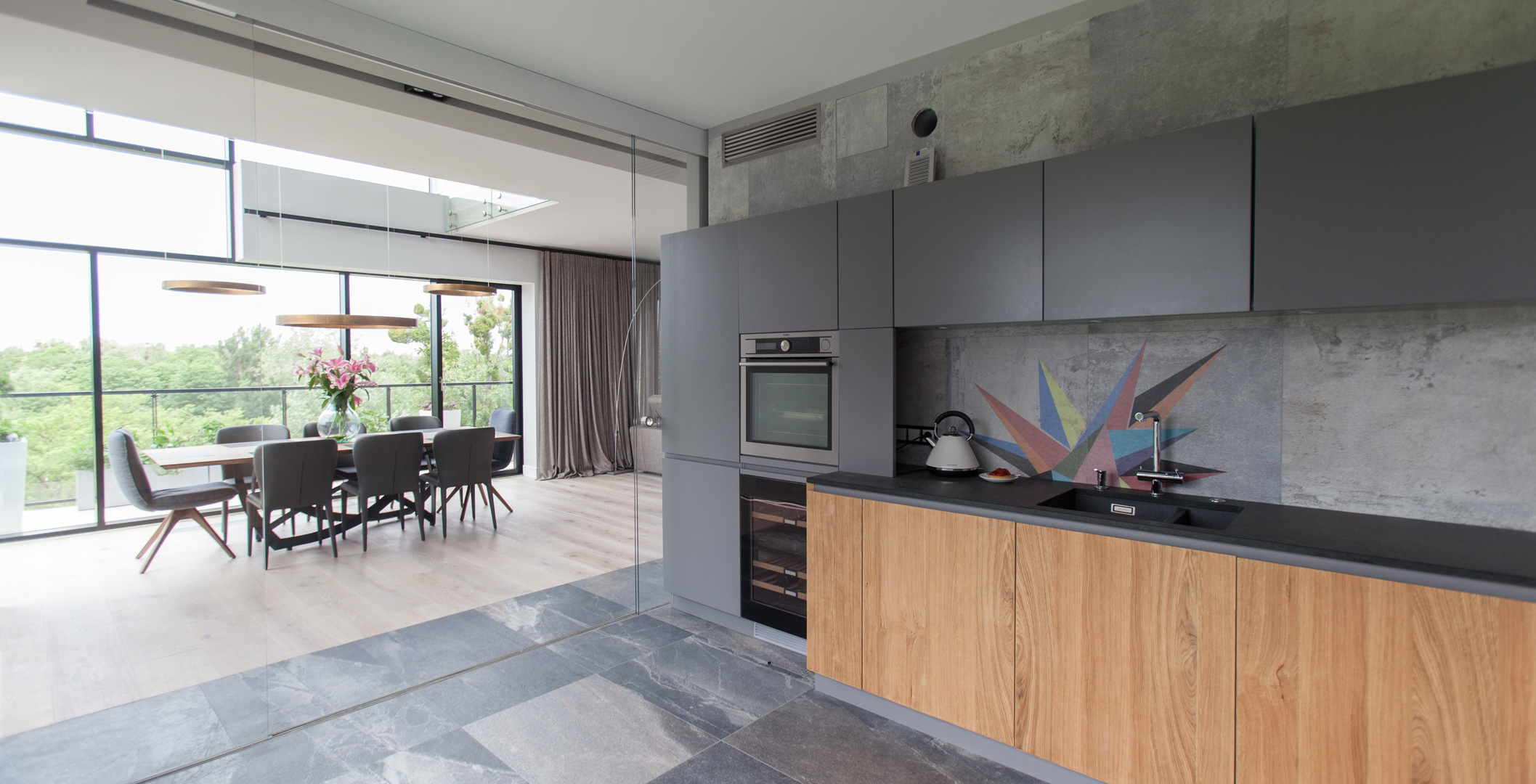 Designerski Penthouse na Woli